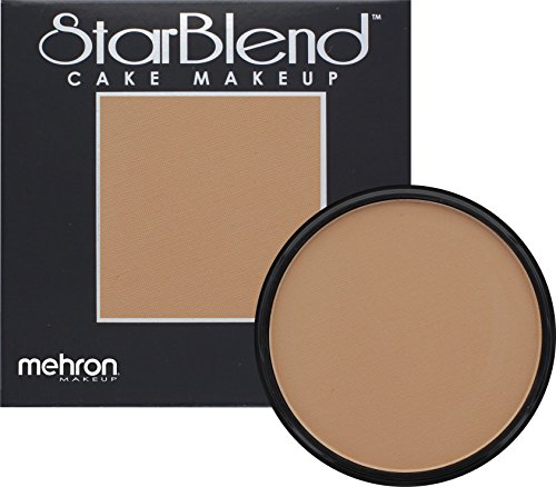 Mehron Makeup StarBlend Cake (2 oz) (Medium Dark Olive) by Mehron