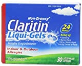 Claritin 24 Hour Allergy Liqui-Gels 30 CT (PACK OF 3)