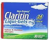 Claritin 24 Hour Allergy Liqui-Gels 30 CT (PACK OF 3)