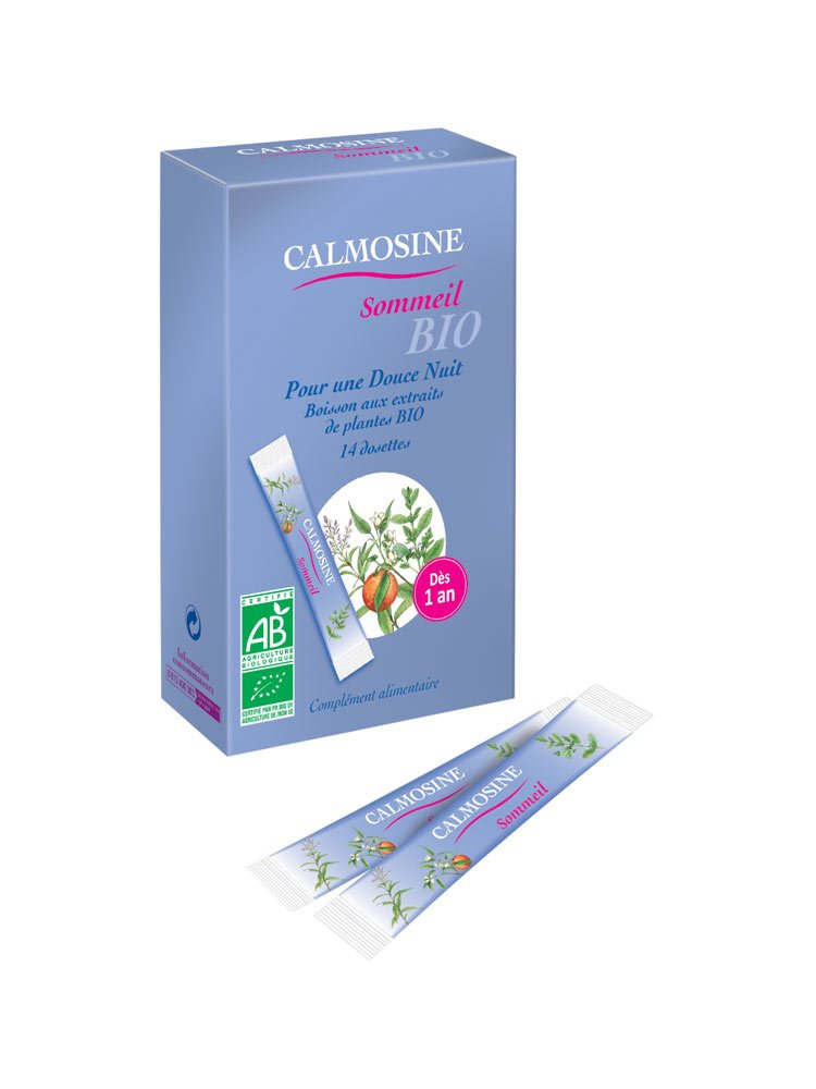 Laboratoires Laudavie Calmosine Sleep Organic 14 Sticks
