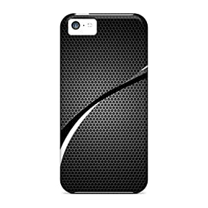LauraKrasowski WWc26524sbxP Protective Cases For Iphone 5c(carbon White Wave)