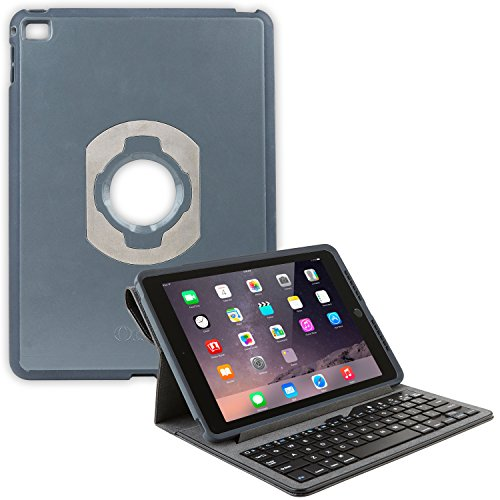 OtterBox Agility Portfolio Bundle with Keyboard for Apple iPad Air 2, Black Leather (78-50352)