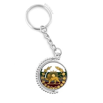 DIYthinker Irán Persia Nacional del león del Emblema Sun ...