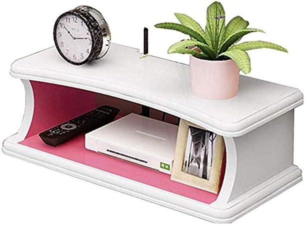 DGLIYJzhiwujia DGLIYJ Caja de Almacenamiento de enrutador montada en la Pared Caja de conexión para televisor, Fondo de TV, Fondo Decorativo, 3 Colores (15,7 x 7,87 x 4,1 Pulgadas) (Color : C): Amazon.es: Hogar