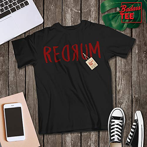 Redrum Murder Killer 80s Horror Movie Halloween Fan Costume Halloween Cosplay Customized T-Shirt | Long-Sleeve | Hoodie | Tank Top | Sweatshirt -
