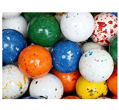 Dubble Bubble Balldozers GIANTJawbreakers Assorted Speckled (85 ct.) - 2-inch diameter EACH (Bowls Glass Concord)