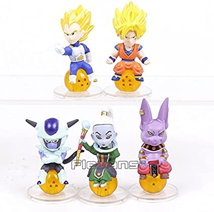 Dragon Ball Freeza Mini Figure Action Set Statue Display Toys Model Collection