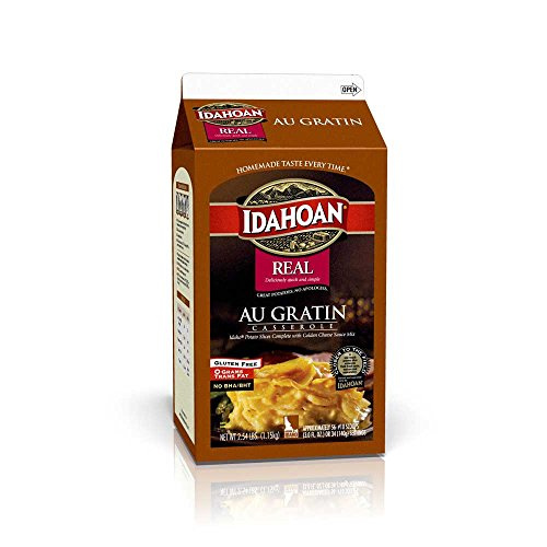 Idahoan Real Au Gratin Casserole Potatoes, 2.54 Pound - 6 per case. by Idahoan
