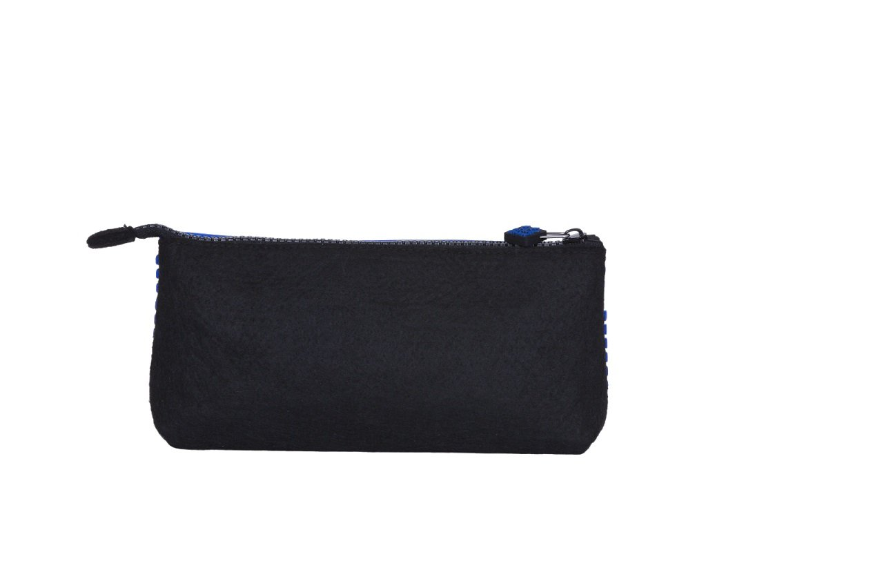 Case Pouch Pencil Panel Blue With Dark Silicon R18xwAqpHx