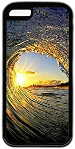 LJF phone case Sea Wave Theme iphone 4/4s Case
