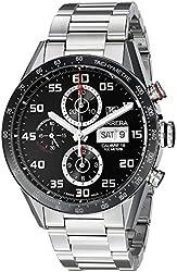 TAG Heuer Men's 'Carrera' Swiss Automatic Stainless Steel Dress Watch (Model: CV2A1R.BA0799)