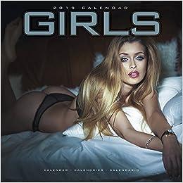 2019 Girl Calendar Girls Calendar 2019: Avonside Publishing Ltd: 9781785804519: Books