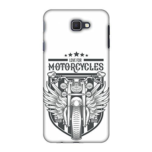 Samsung Galaxy On7 2016 Case, Premium Handcrafted Designer Hard Shell Snap On Case Shockproof Printed Back Cover for Samsung Galaxy On Nxt - Love for Motorcycles 3