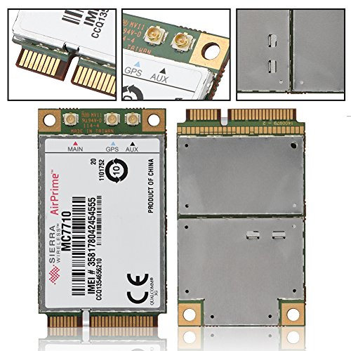 fosa High Performance Replacement 100Mbps + 50Mbps 4G LTE HSPA+ Wireless Module Card PCI-E PC/Laptop, Compatible OS Windows/Linux/ Android by fosa (Image #5)