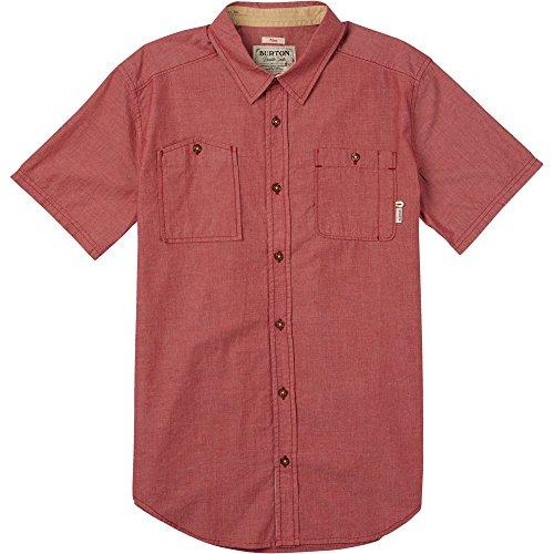 Burton Men's Glade Short Sleeve Shirt, X-Large, Brick Red Ch