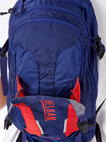 CamelBak M.U.L.E. 100 oz Hydration Pack, Pitch Blue/Racing Red by CamelBak (Image #7)