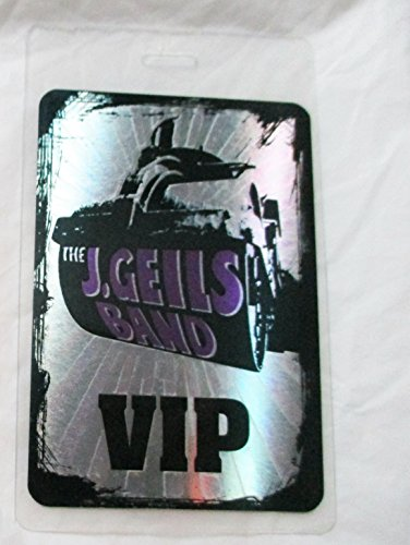 J Crew Bands - The J. Geils Band Hologram Laminated Backstage Pass VIP