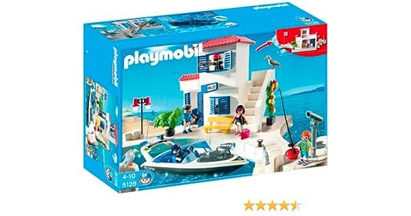 Playmobil - Puerto Policía+Lancha (5128)