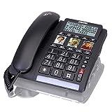 Switel Schnurgebundenes seniors phone TF 550 handsfree, Optische Anrufsignalisierung Beleuchte