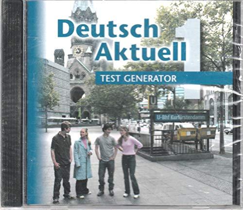 Deutsch Aktuell 1 - Test Generator CD-ROM (Test Generator)