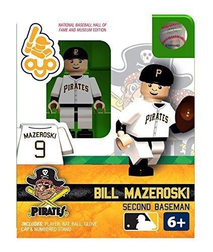 Bill Mazeroski OYO MLB HOF Pittsburg Pirates G2 Series 2 Mini Figure Limited Edition