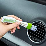 Multi-Functional Cleanning car Brush Winter Makeup Microfiber Duster Auto Cleaning Tool Air Conditioning