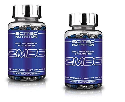 Scitec Nutrition 2 x ZMB6 (ZMA) 120 Capsules by Scitec Nutrition
