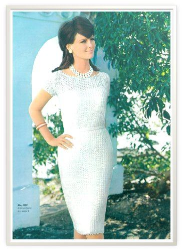 #0088 CATALINAN DRESS VINTAGE CROCHET PATTERN (Single Patterns) (Vintage Dress Crochet)