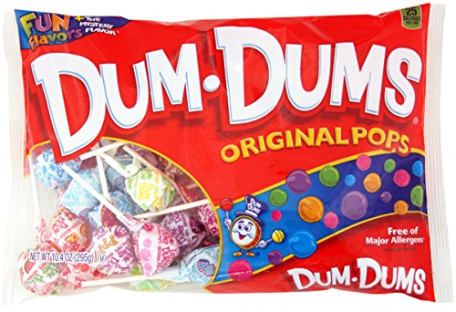DUM DUMS Lollipops, 10.4 Oz Bag (Pack of 12) ()