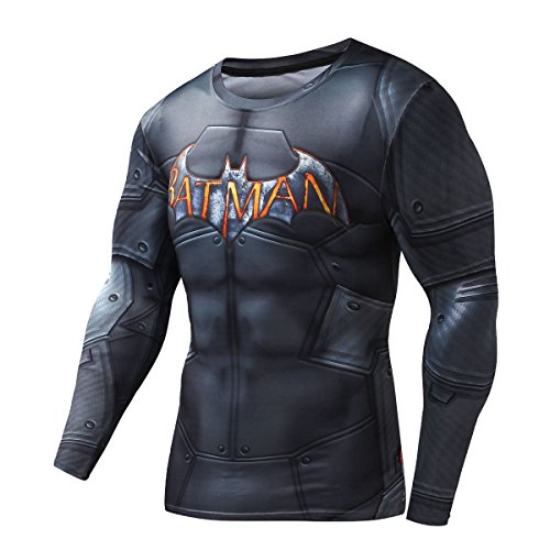 Cody Lundin Herren Mode Bat gedruckt schwarz Party T-shirt Gentleman attraktiven Sport Hemd des Mannes Sport Fitness Dress-Party im freien Langarm