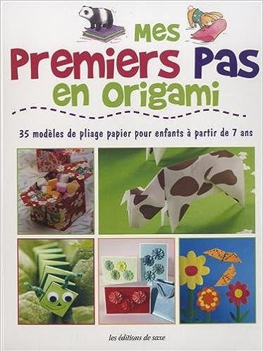 Télécharger en ligne Mes premiers pas en origami : 35 modèles de pliage papier pour enfants à partir de 7 ans pdf
