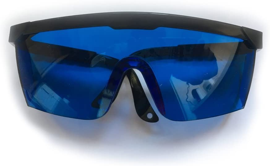 Nadalan Gafas 600-700nm / Gafas Protectoras láser Rojas/Gafas infrarrojas/Gafas láser