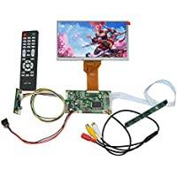 NJYTouch HDMI AV Remote Driver Board with 7inch 800x480 AT070TN92 LCD Screen