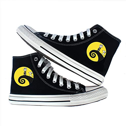 62fe453a23dc7 Amazon.com: The Nightmare Before Christmas Canvas Shoes Jack ...