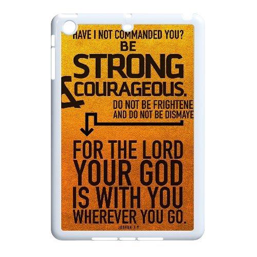 Brady iPad Mini Case,Personalized Custom Bible Verse Scripture,Unique Design Protective TPU Hard Phone Case Cover]()