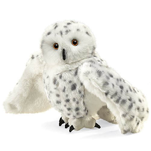 Folkmanis Snowy Owl Hand Puppet