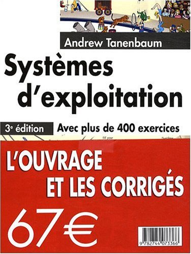 Amazon Fr Systemes D Exploitation Corriges Tanenbaum Andrew Livres