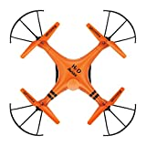 HOSIM Aviax H2O waterproof Drone Headless Mode 2.4GHz 6Axis Gyro Quadcopter RC Explorers LED flashing lights support DIY(Orange)