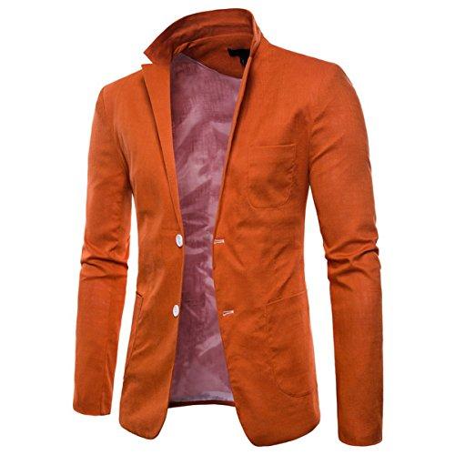 Orange Blazer Orange Orange Homme Invachi Invachi Invachi Blazer Blazer Invachi Blazer Homme Homme 7qq1OE