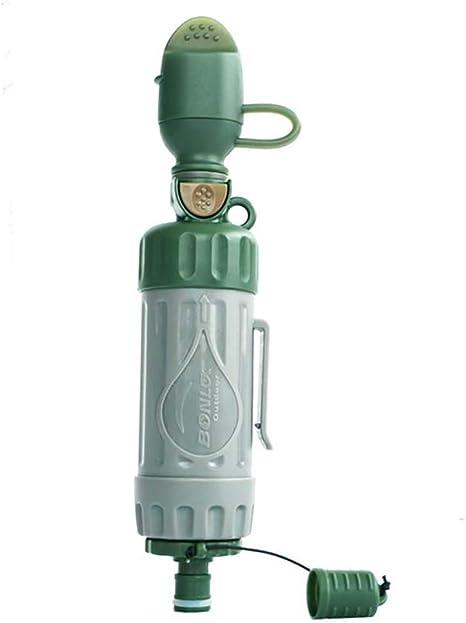 ZUEN Al Aire Libre multifunción purificador de Agua terremoto ...