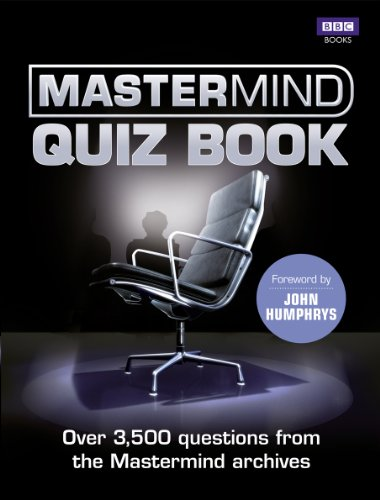 The Mastermind Quiz Book - 100 Dr Citadel