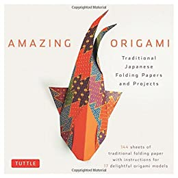 amazing origami traditional japanese folding papers and projects