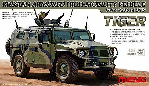 """Meng """"modèle 1: 35Russe gaz-233014STS Tigre blindé haute mobilité Kit véhicule"""" (Multicolore)"""