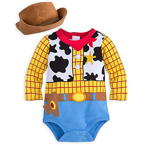 Disney-Store-Toy-Story-Sheriff-Woody-Baby-Boys-Costume-Outfit-Hat-Dress-Up