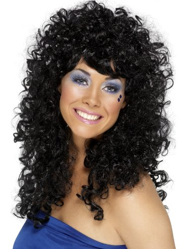 Boogie Babe Wig Costume Accessory (Boogie Man Costume)