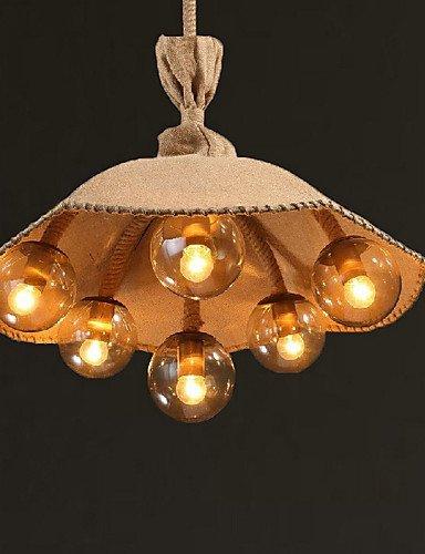DXZMBDM® 40W Vintage / Rustikal LED Korrektur Artikel Metall Kronleuchter / PendelleuchtenSchlafzimmer / Esszimmer / Studierzimmer/Büro / , 220-240v-multi color