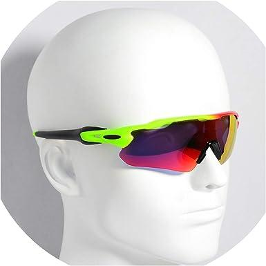 SSeven Gafas de sol polarizadas para ciclismo, para hombre, mujer, lentes fotocromáticas, 10 lentes fotocromadas, 5 lentes: Amazon.es: Ropa y accesorios
