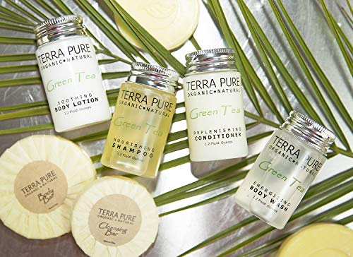 Terra Pure Bar Soap, Travel Size Hotel Amenities, 1.25 oz (Pack of 350) by Terra Pure (Image #7)