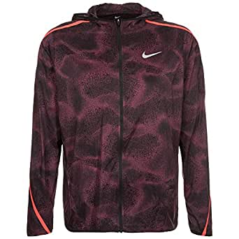 2bea3e059c93 Image Unavailable. Image not available for. Color  Nike Shield Impossibly  Light Hooded Mens Running Jacket ...