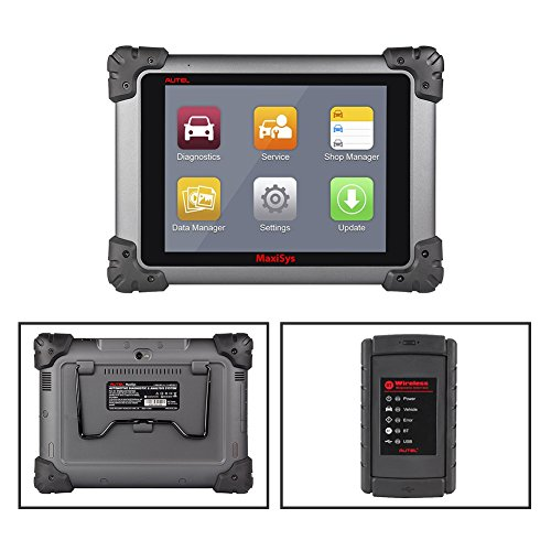 Autel Maxisys MS908 Automotive Diagnostic Scanner Tool and Analysis System with All Systems Diagnosis and Advanced Coding by Autel (Image #2)